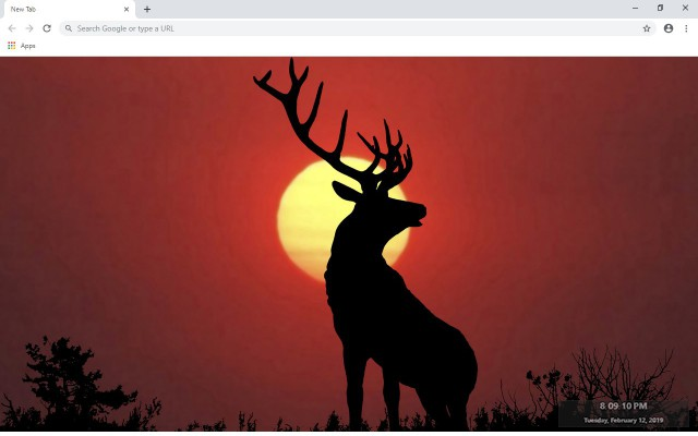 Deer New Tab & Wallpapers Collection