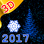 3D New Year 2017 LWP