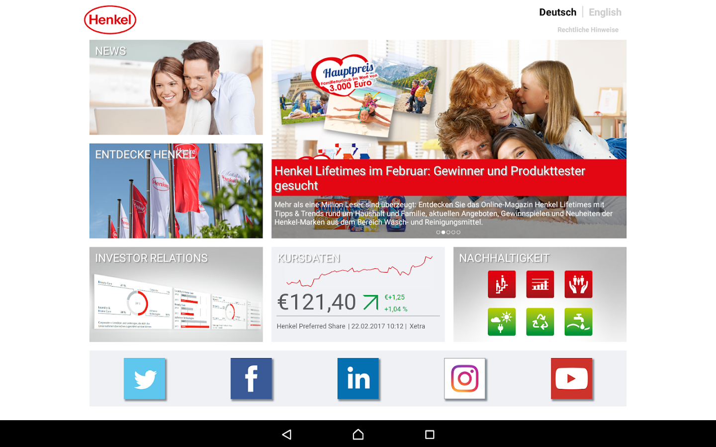 Henkel – Screenshot