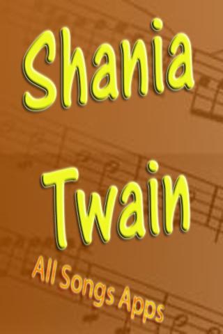 All Songs of Shania Twain