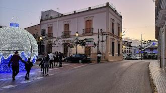 Las luces navideñas iluminan las calles del municipio de Tabernas.