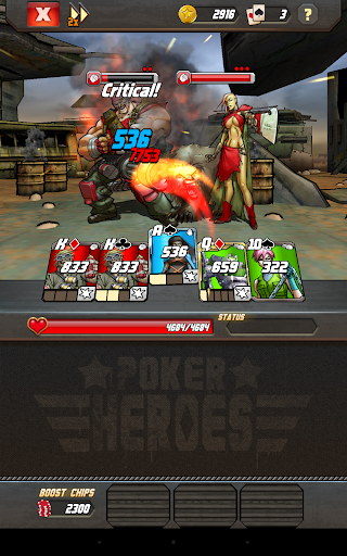 Poker Heroes - screenshot