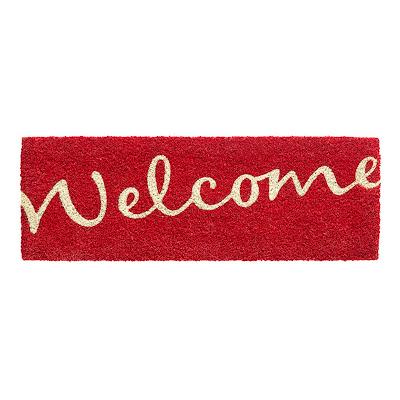 Коврик HAMAT 147 Ruco Welcome красный 26x75 см