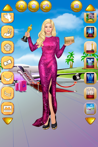 Actress Dress Up - Fashion Celebrity apktram screenshots 2
