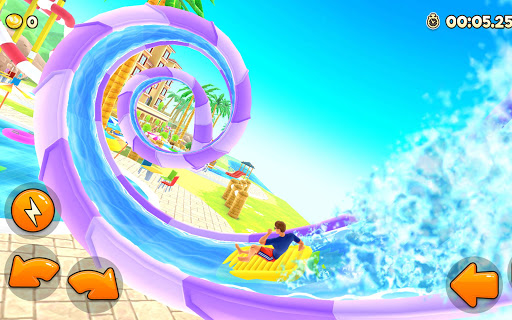 Uphill Rush Water Park Racing android2mod screenshots 8