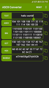 ASCII Converter – Text Encoder Apk Download 3