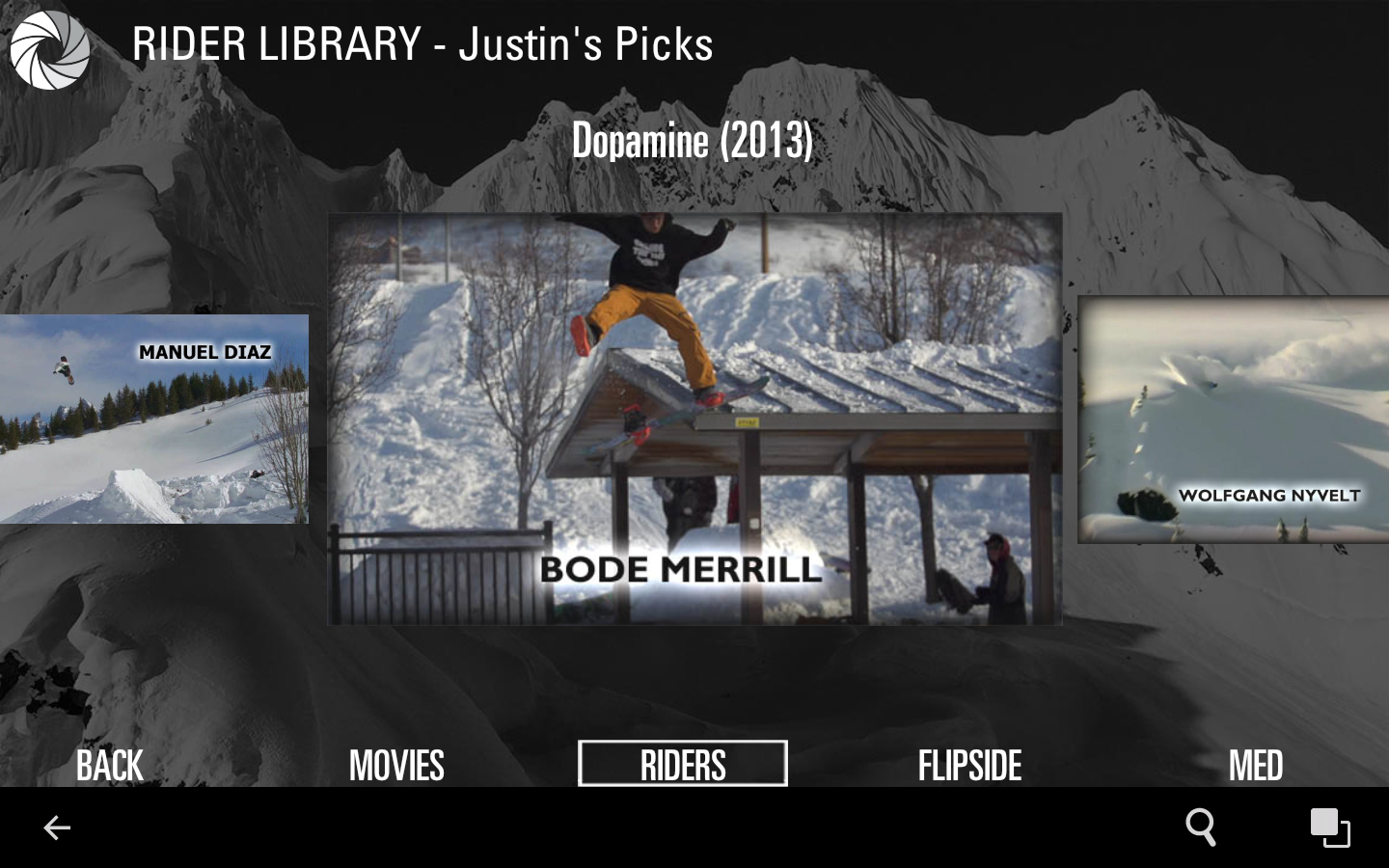 Absinthe Films Snowboarding- screenshot