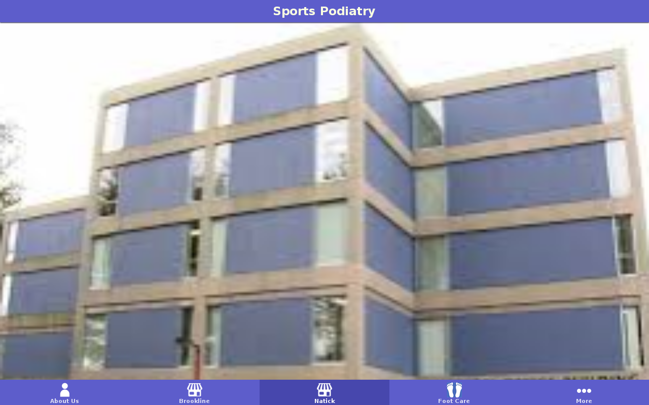 Sports Podiatry- screenshot
