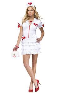 Sjuksköterska med volang