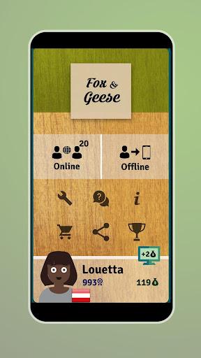 Fox and Geese - Online Board Game apkdebit screenshots 4