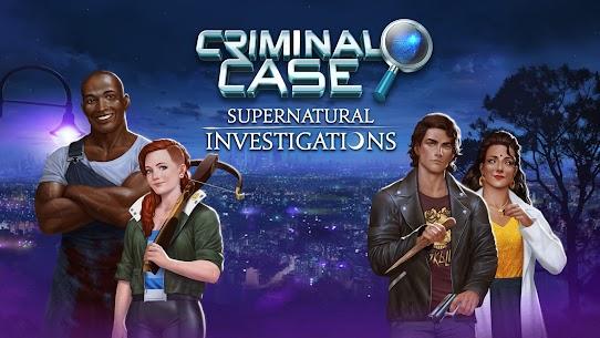 Criminal Case: Supernatural Investigations MOD (Money/Energy) 1