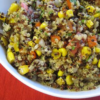 Andean Corn & Quinoa Salad