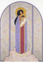Photo: Versión de la Virgen de la Cuna Estados Unidos