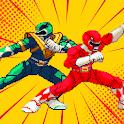 Hero Dino Battle Ninja Ranger Steel Samurai Retro icon