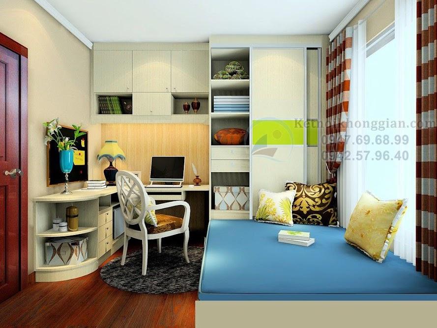thiết kế căn hộ chung cư đa năng