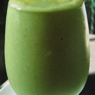 Green Tea Tropical Smoothie.