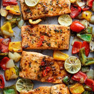 Garlic Chili Salmon Recipes