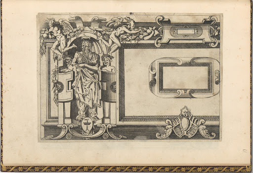 Designs for frames after the Galerie de François 1er at Fontainebleau