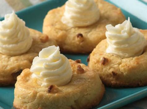 Eggnog Thumbprint Cookies Recipe