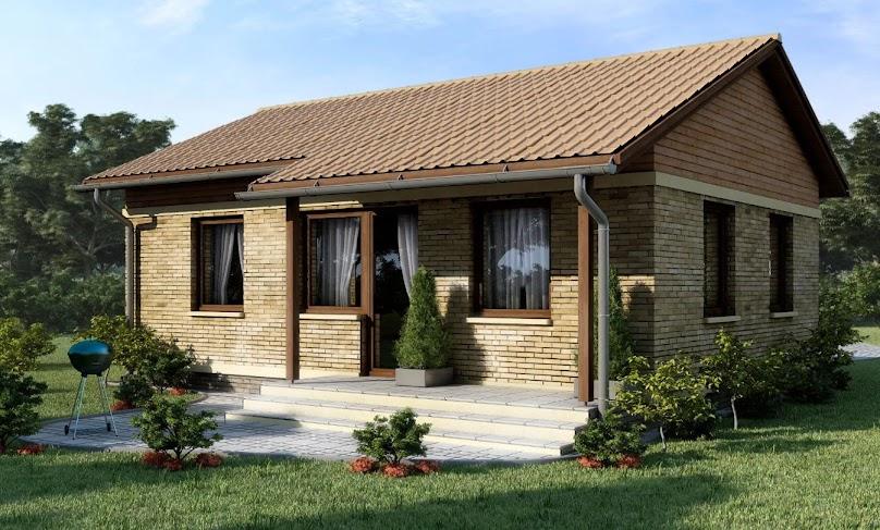 Projekt domu D23 - Marcin