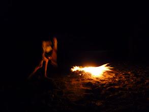 Photo: Firedance on Fournoi