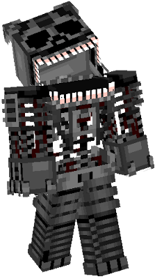 This is Nightmare Endoskeleton. by:Pinkbear