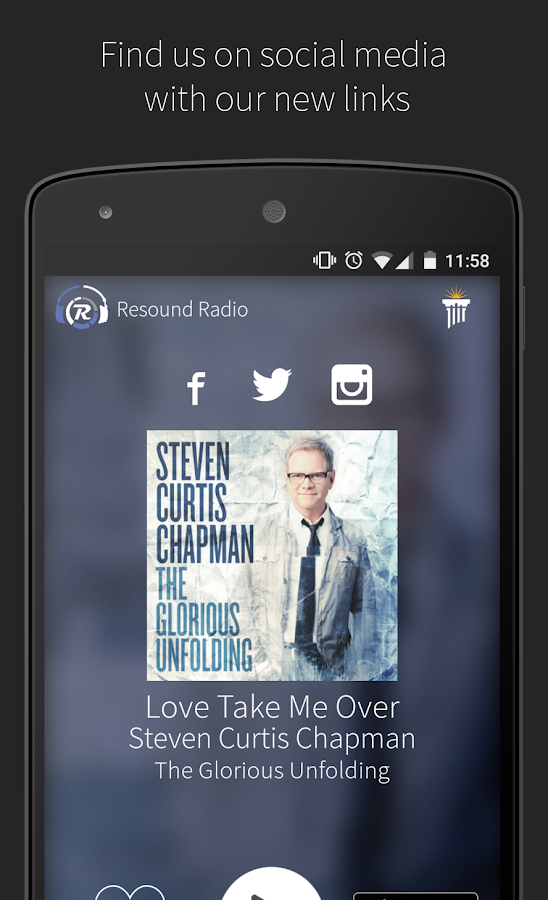 Resound Radio- screenshot