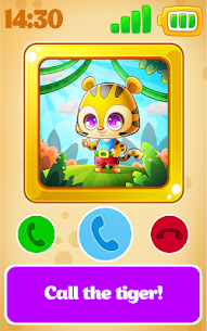 Babyphone – baby music games with Animals, Numbers 4