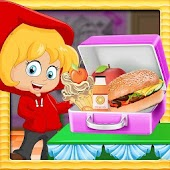 cheese burger lunch Box - yummy food cooking game