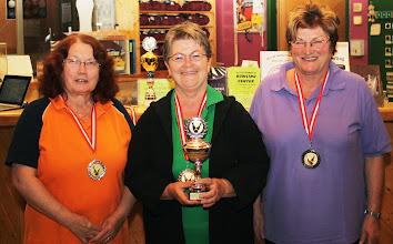 Photo: Senioren Einzel Damen – die Siegerinnen
