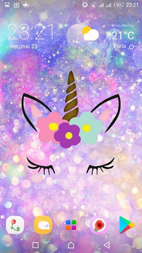 Kawaii Unicorn Cat Girly Wallpapers Apk Download Apkpure Co