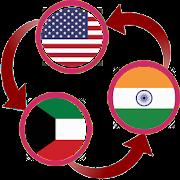 USD To Kuwaiti Dinar and Indian Rupee Converter