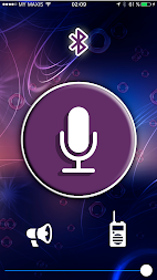 Speech - the microphone is always with you APK screenshot thumbnail 1