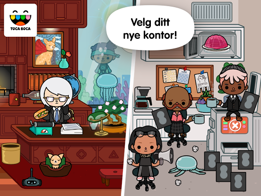 Screenshot for Toca Life: Office in Norway Play Store
