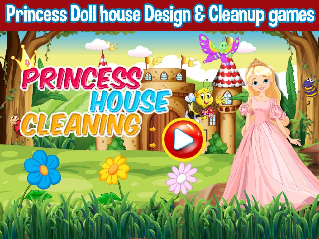 Princess Doll House Cleaning Decoration Games Android Apps On Google Play