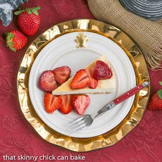 Mascarpone Cheesecake with Balsamic Strawberries Recipe