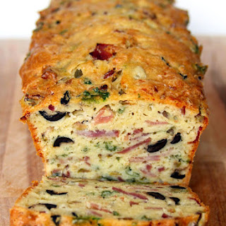 Olive, Bacon and Cheese Bread Recipe