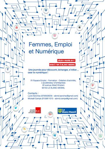 Femmes, Emploi et Numérique, Blanc-Mesnil