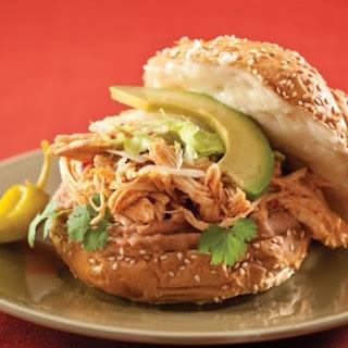 Chicken Tingas Sandwich.
