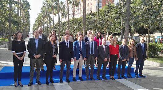 Pablo Casado denuncia electoralismo de la Junta en Almería