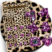 Pink Gold leopard Print Theme