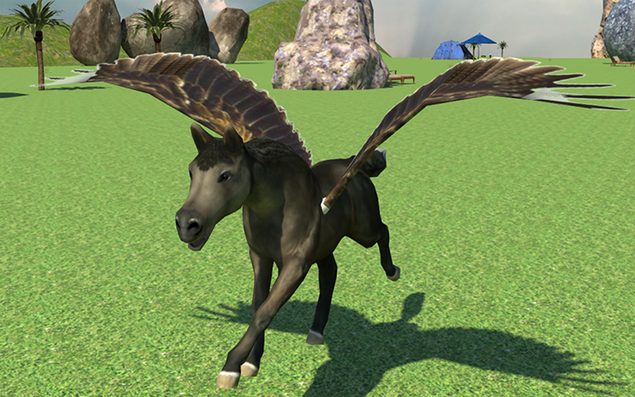 flying horse ride adventure android apps on google play