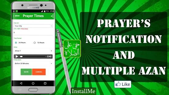 Algeria Prayer Times 2 screenshot