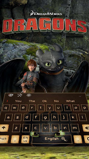 How to Train Your Dragon Adventure Keyboard Theme photos 1