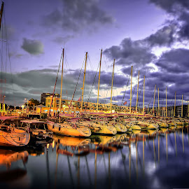 Marina by Joel Adolfo - Transportation Boats ( boats, transportation )