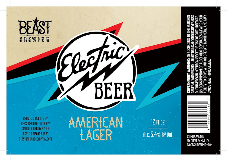 Logo of Beast Brewing Company's Electric Beast