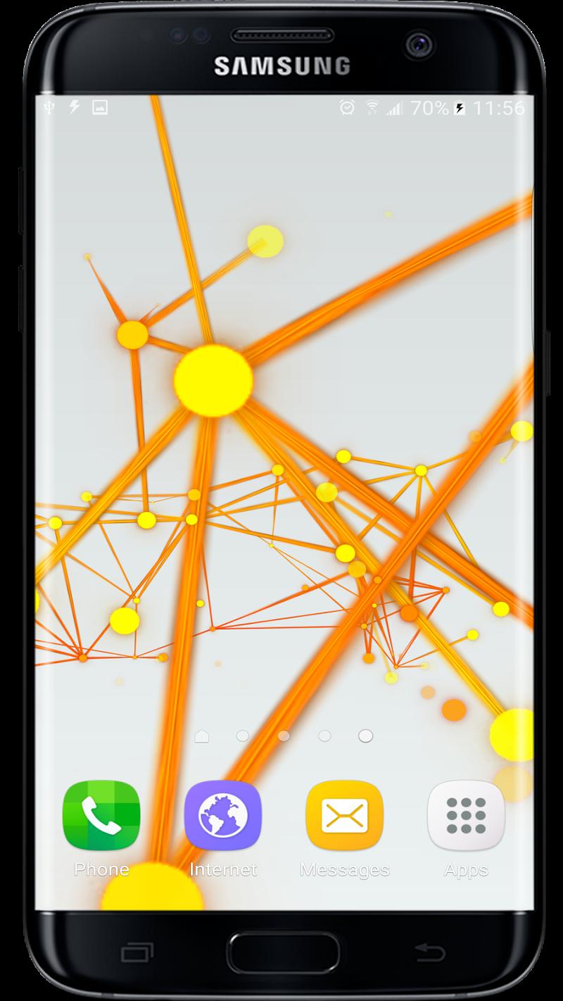 Abstract Particles Wallpaper Screenshot 2