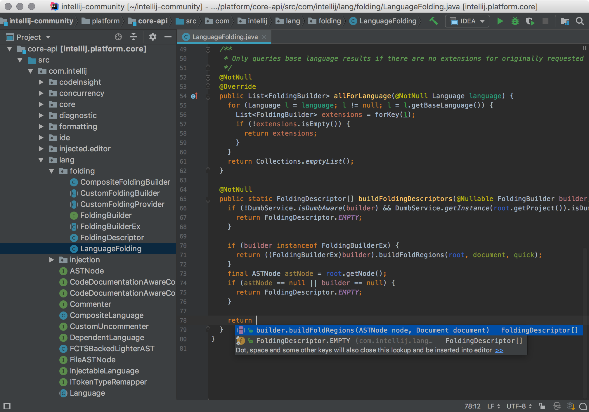 JetBrains IntelliJ IDEA 2019 cho Mac