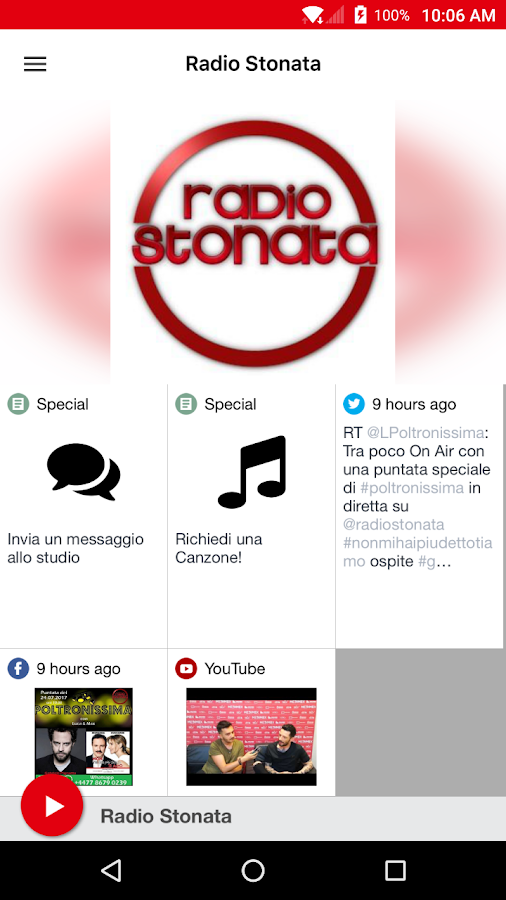 Radio Stonata- screenshot