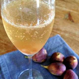 Harvest Champagne + Fig Cocktail